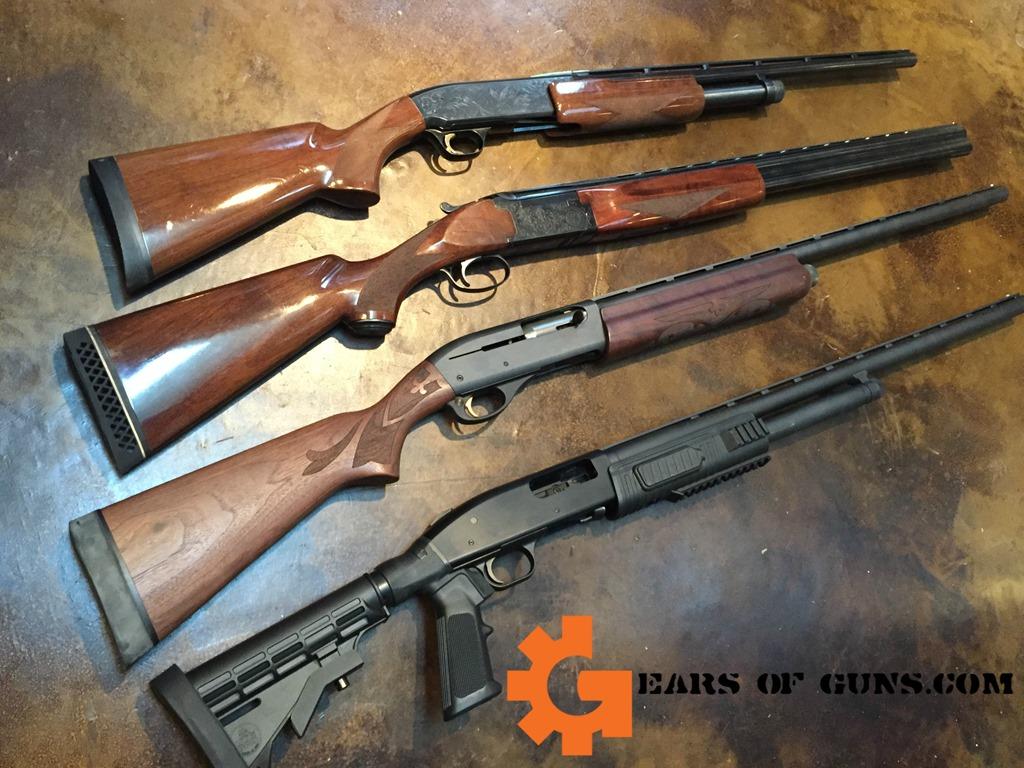 GEARS SHOTGUNS