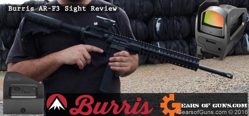 Burris AR-F3