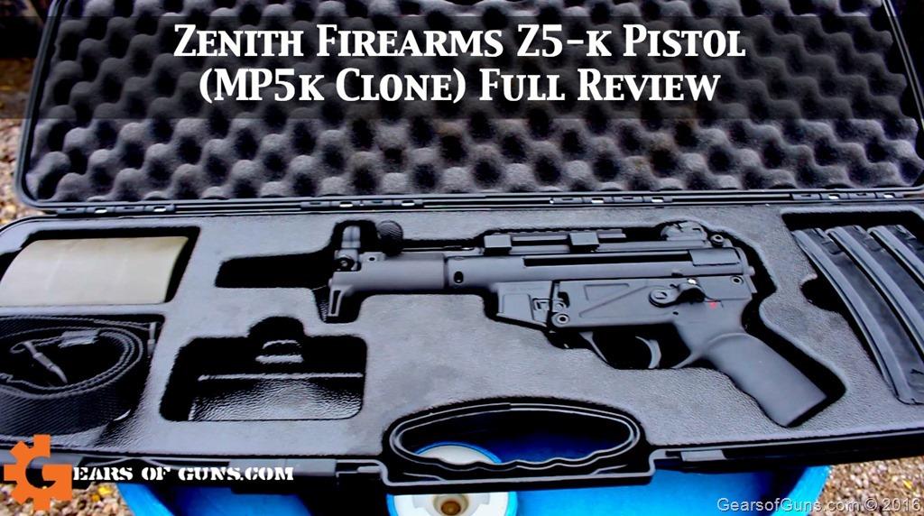 Z5K pistol cover