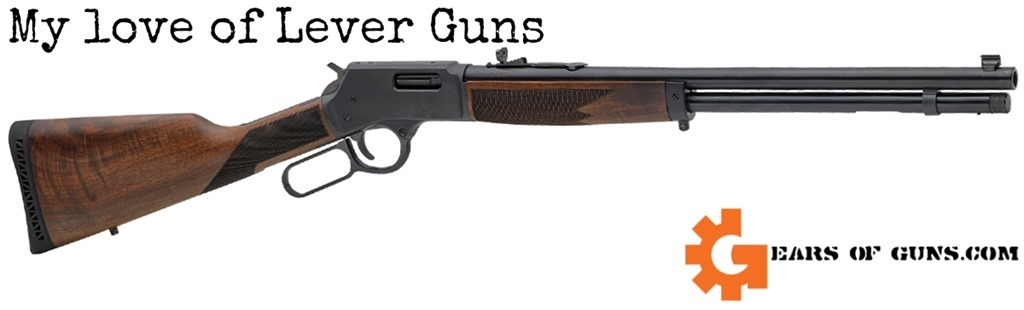My love of Lever actions