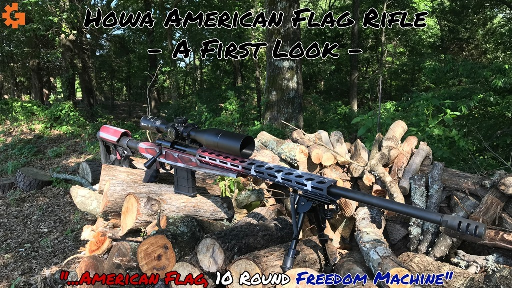 American Flag First Look Cover