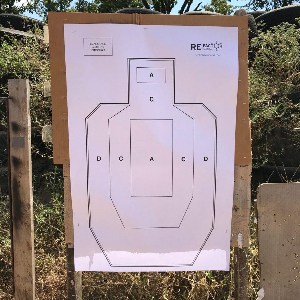 Refactor Tactical IPSC/USPSA Practice Target