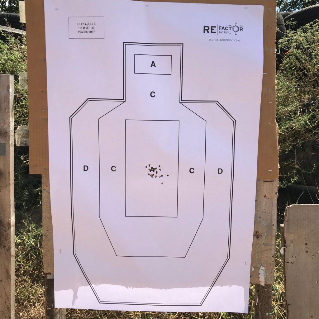 Used Refactor Tactical IPSC/USPSA Practice Target