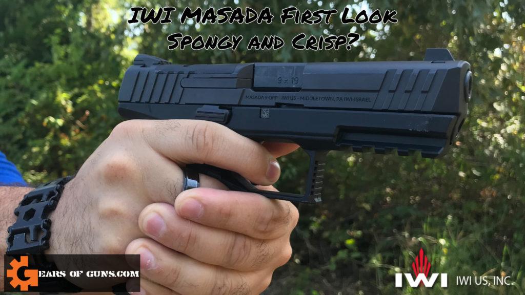 Cover Photo Of the IWI Masada Pistol