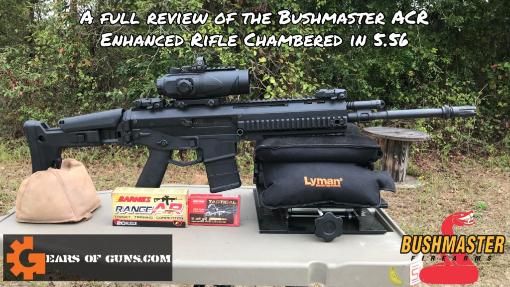 Bushmaster ACR Enhanced Full Review Cover